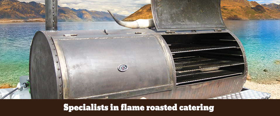 Specialists in Flame Roasted Catering